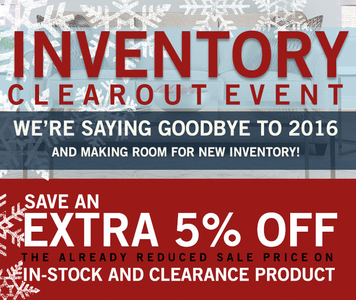 Inventory Clearout Event Stoney Creek Furniture